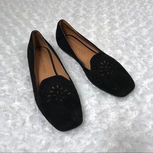 Gentle Souls 8.5 Black Suede Erica Flats Loafers